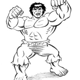 268x268 Hulk Head Coloring Page Kids Drawing And Coloring Pages