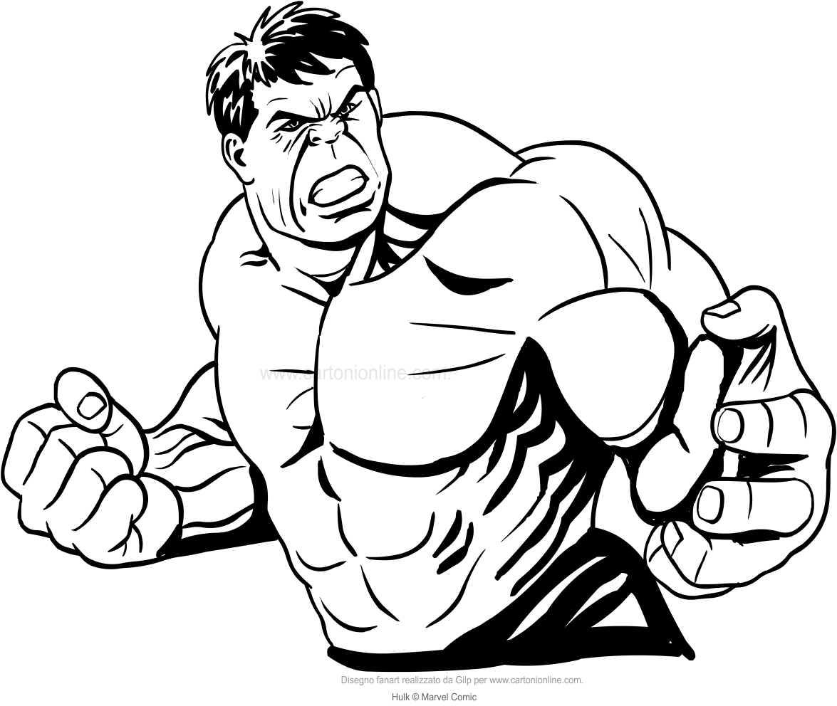 hulk face coloring pages - photo#9