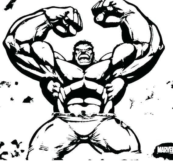 568x529 Incredible Hulk Coloring Pages Pix For Coloring Pages Red Hulk