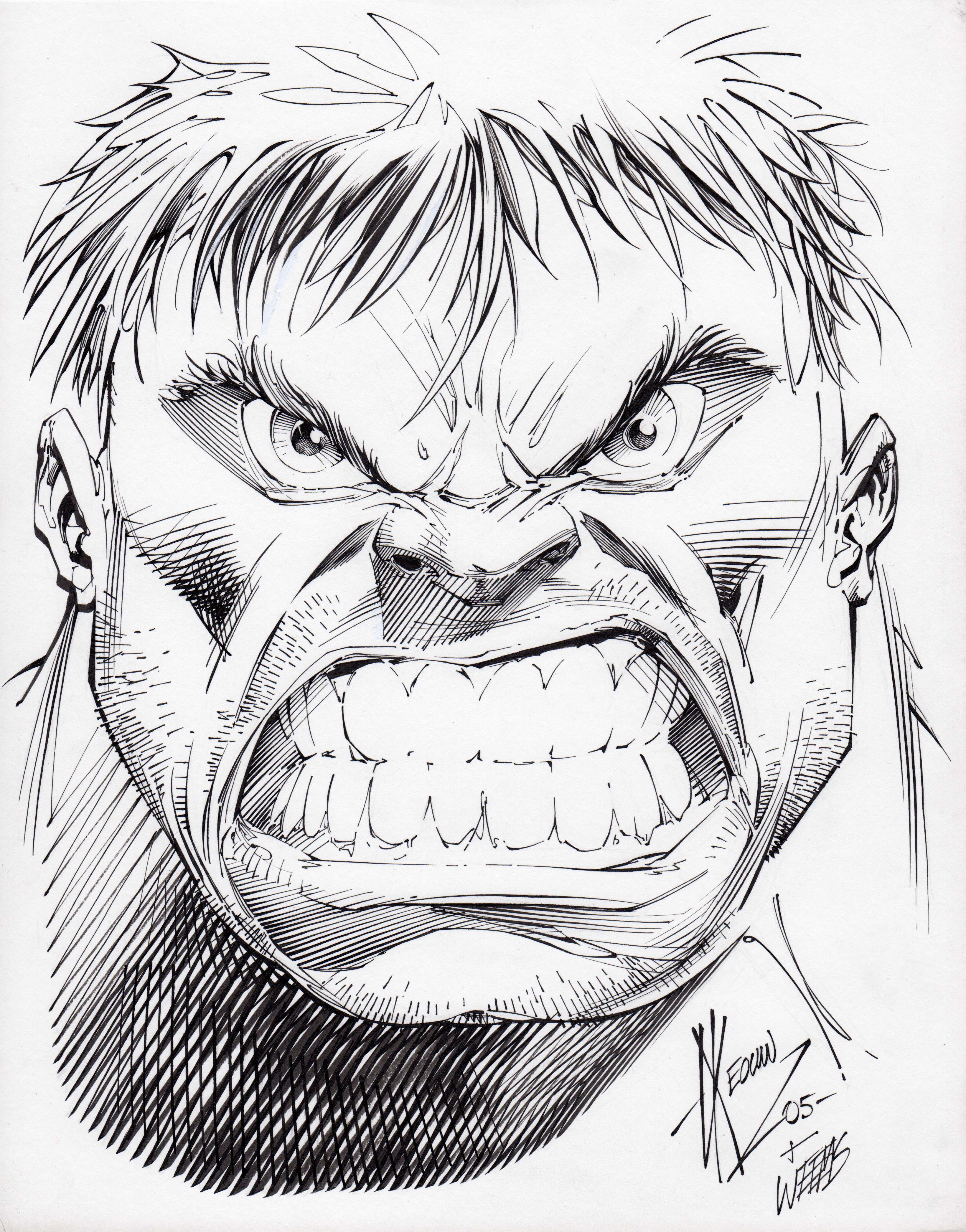3278x4182 More Dale Keown Hulk Art Yes, Please! An Incredible Hulk Fan