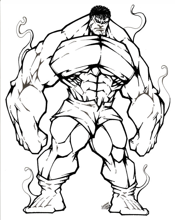 600x754 Fancy Plush Design Hulk Outline Hulk By Steeven7620 Cartoon Art