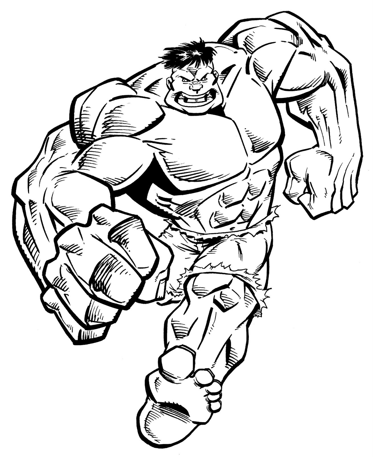 1309x1600 Hulk Clipart Black And White Letters Example