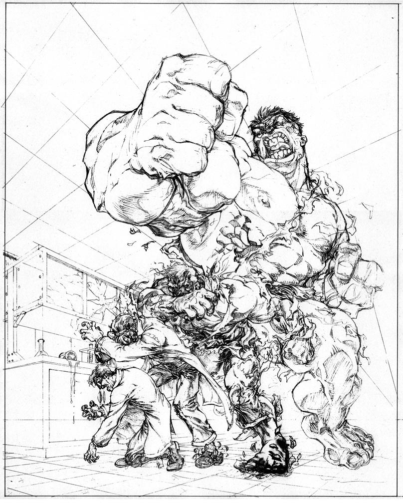 Hulk Drawing In Pencil At Getdrawings Free Download