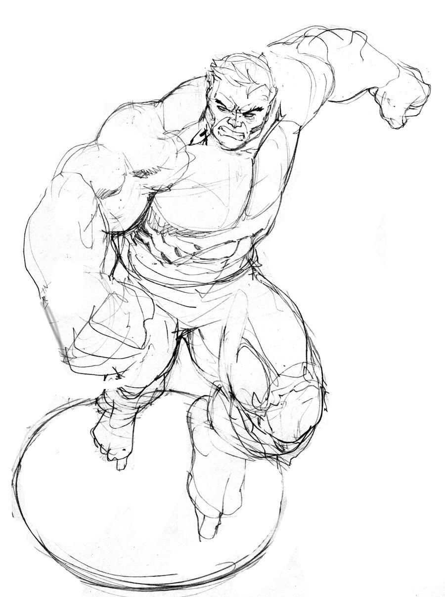 900x1207 Incredible Hulk Art Robert Atkins Art