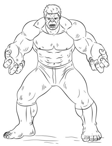 Kleurplaten Hulk.Hulk Drawing Pages At Getdrawings Com Free For Personal Use Hulk