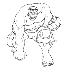 230x230 Chic Ideas Hulk Outline Coloring Pages Bestofcoloring Com Drawing