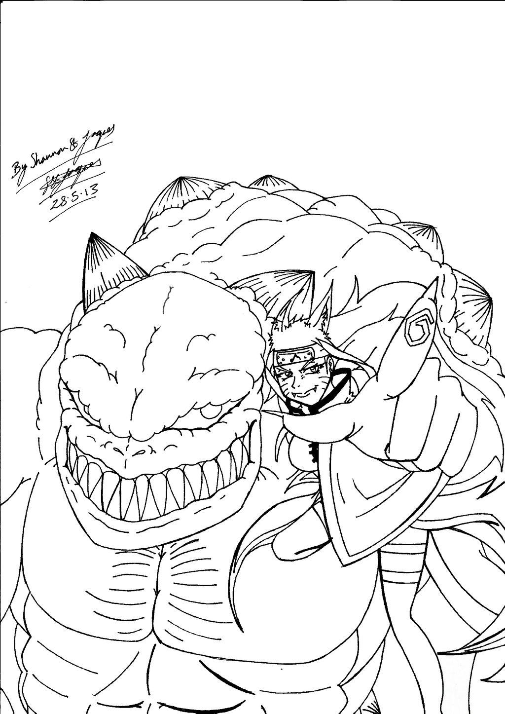 1024x1447 Evil Shannon Uzumaki With Devil Hulk! (Lined) By Shannonxnaruto
