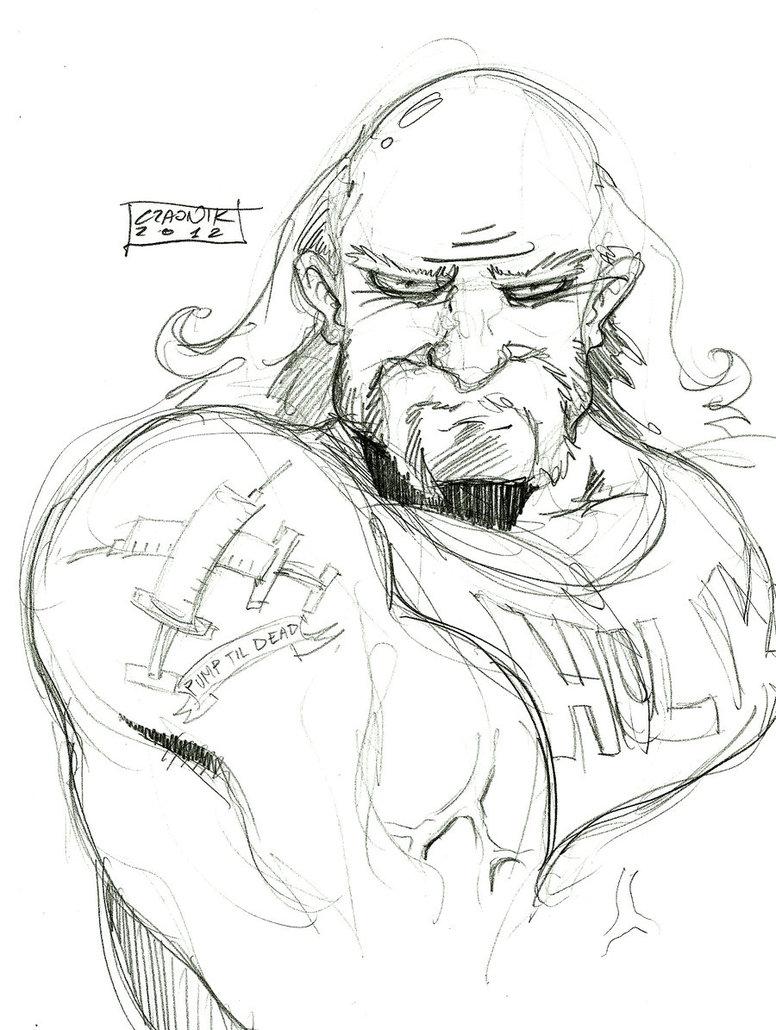 776x1030 Hulk Hogan By Mastaczajnik