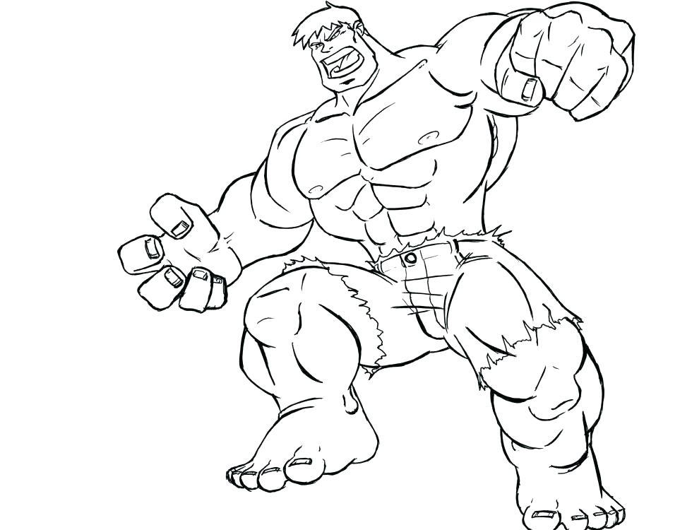980x750 Incredible Hulk Coloring Page Coloring Hulk Incredible Hulk