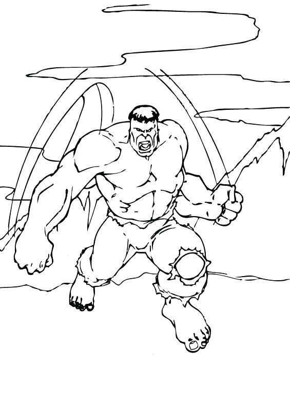 565x793 La Hulk Lifts Boulder Dangerous Coloring Page Super Heroes Pages