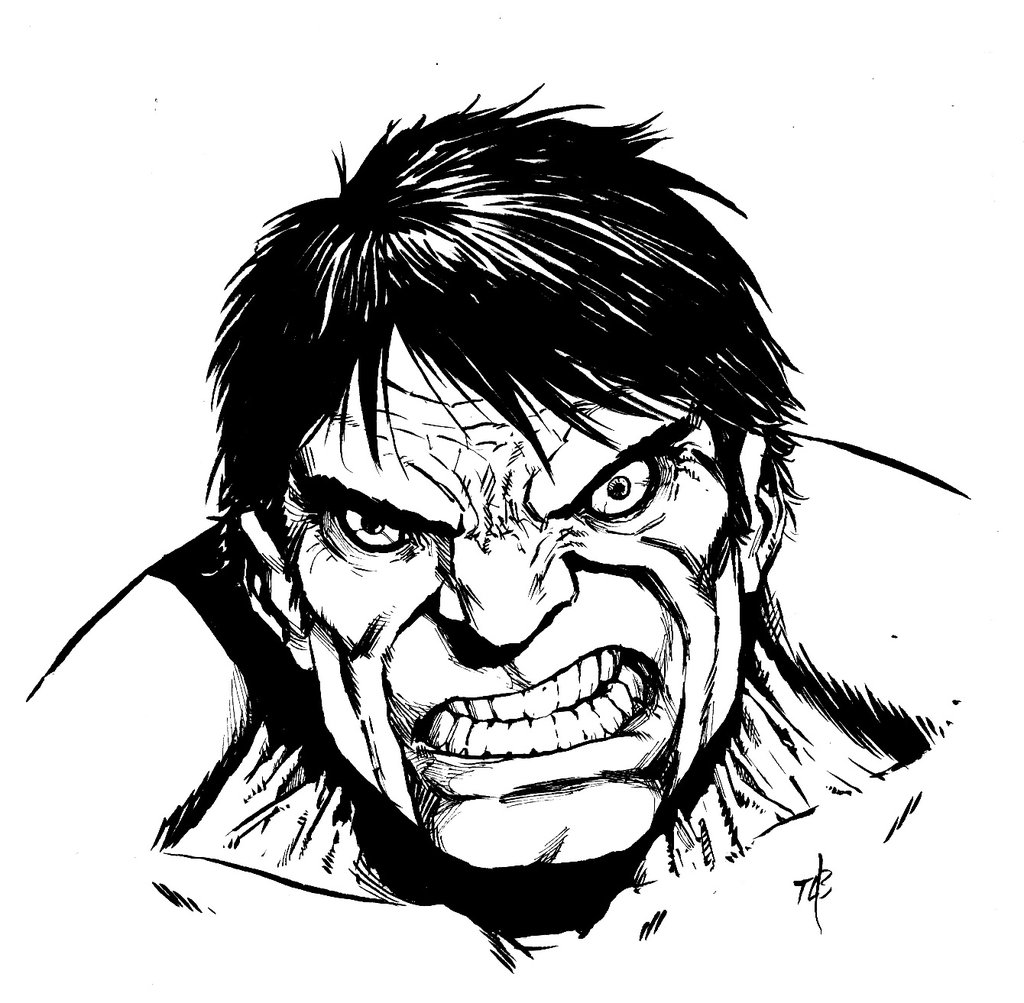 1024x1003 Classic Incredible Hulk By Toze Barnabe