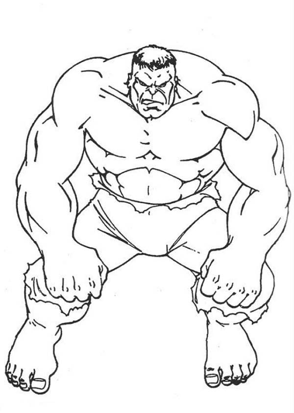 600x844 Pleasant Design Hulk Outline How To Draw The Incredible