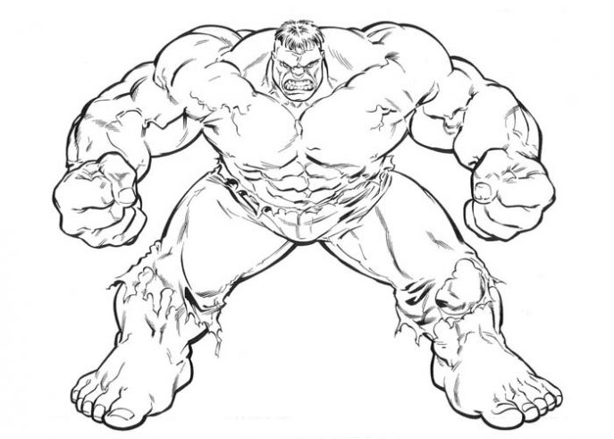 687x491 Coloring Pages Incredible Hulk Coloring Pages Cartoon Printable