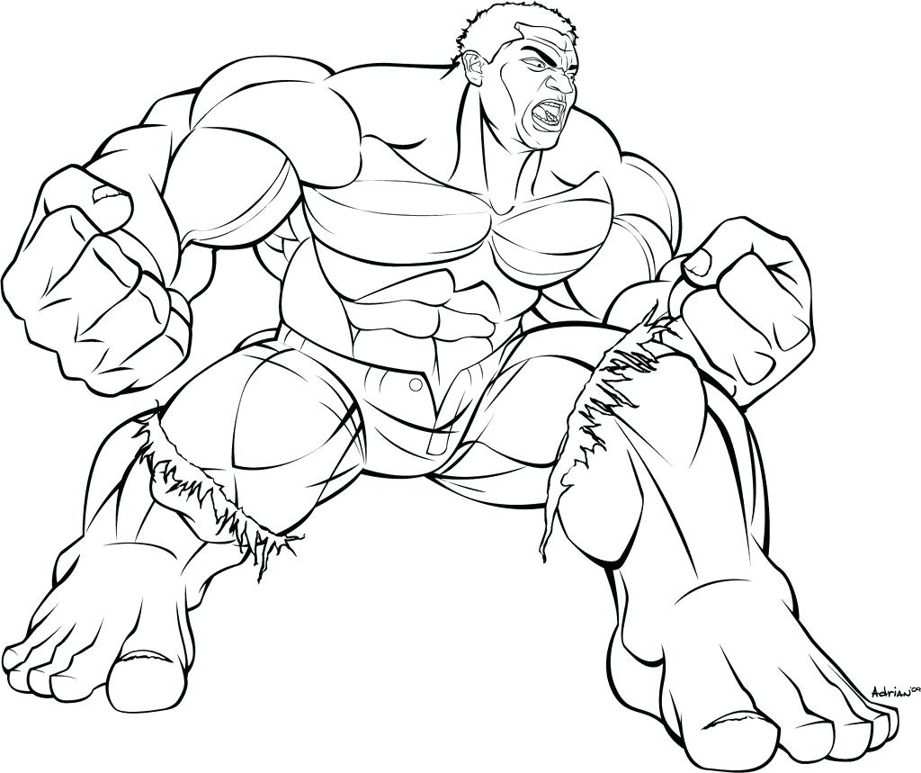 1024x859 Coloring Incredible Hulk Coloring Pictures The Strong Man Pages