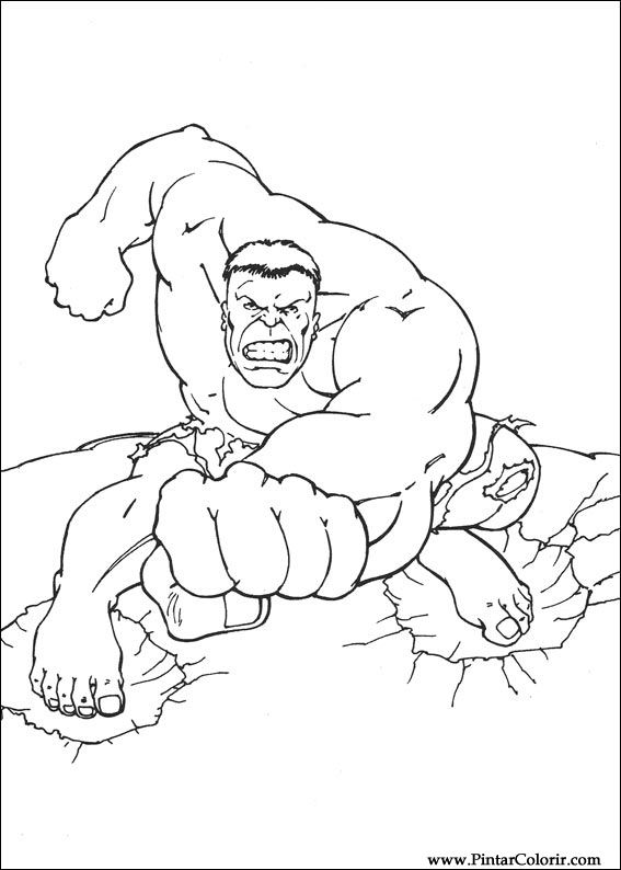 567x794 Drawings To Paint And Hulk Coloring