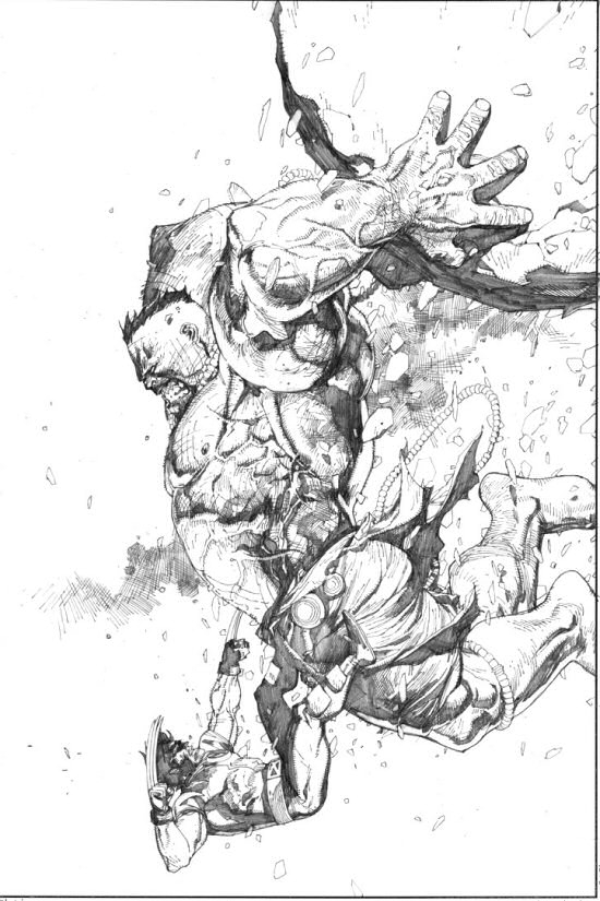 550x825 Ultimate Hulk Vs. Ultimate Wolverine