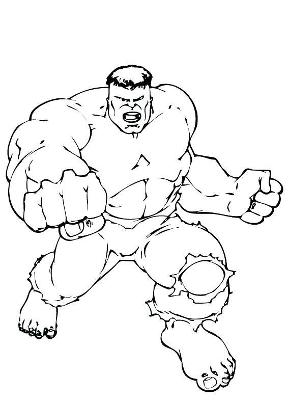 566x793 Hulk Hogan Coloring Pages Hulk Color Pages Incredible Hulk