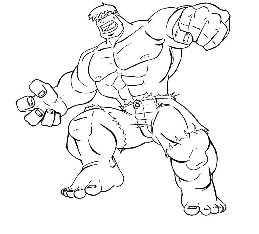 848x767 Hulk Hogan Coloring Pages Printable Hulk Coloring Pages Medium