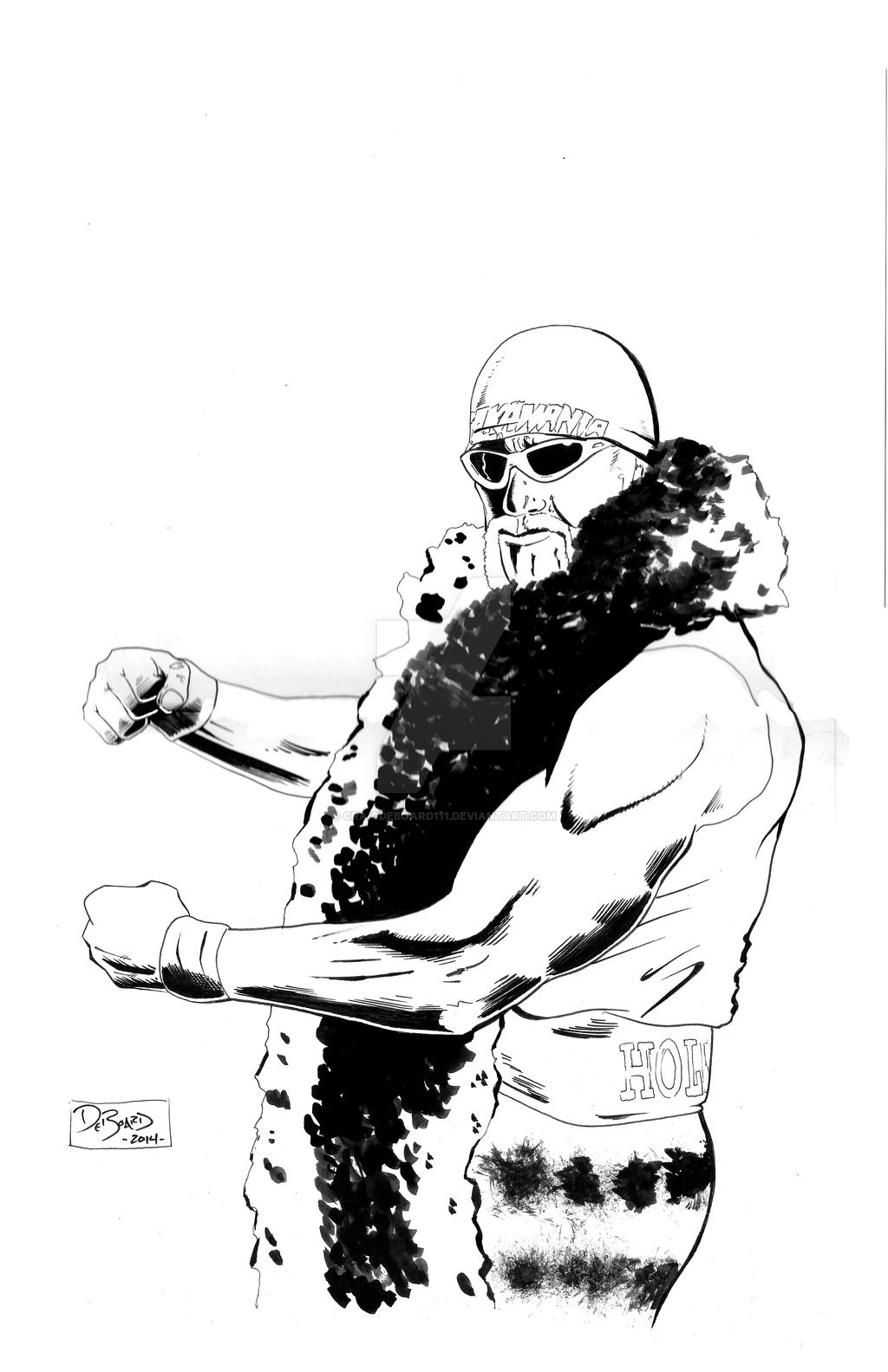 1024x1583 WWE Hulk Hogan By Craigdeboard111 On DeviantArt