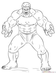 215x279 Drawn Pencil Hulk