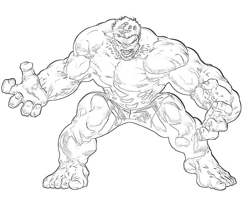 800x667 Hulk Pictures To Draw