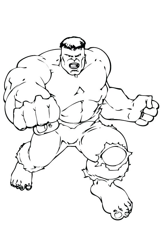 566x793 Minimalist Incredible Hulk Coloring Pages Free Download Weekly