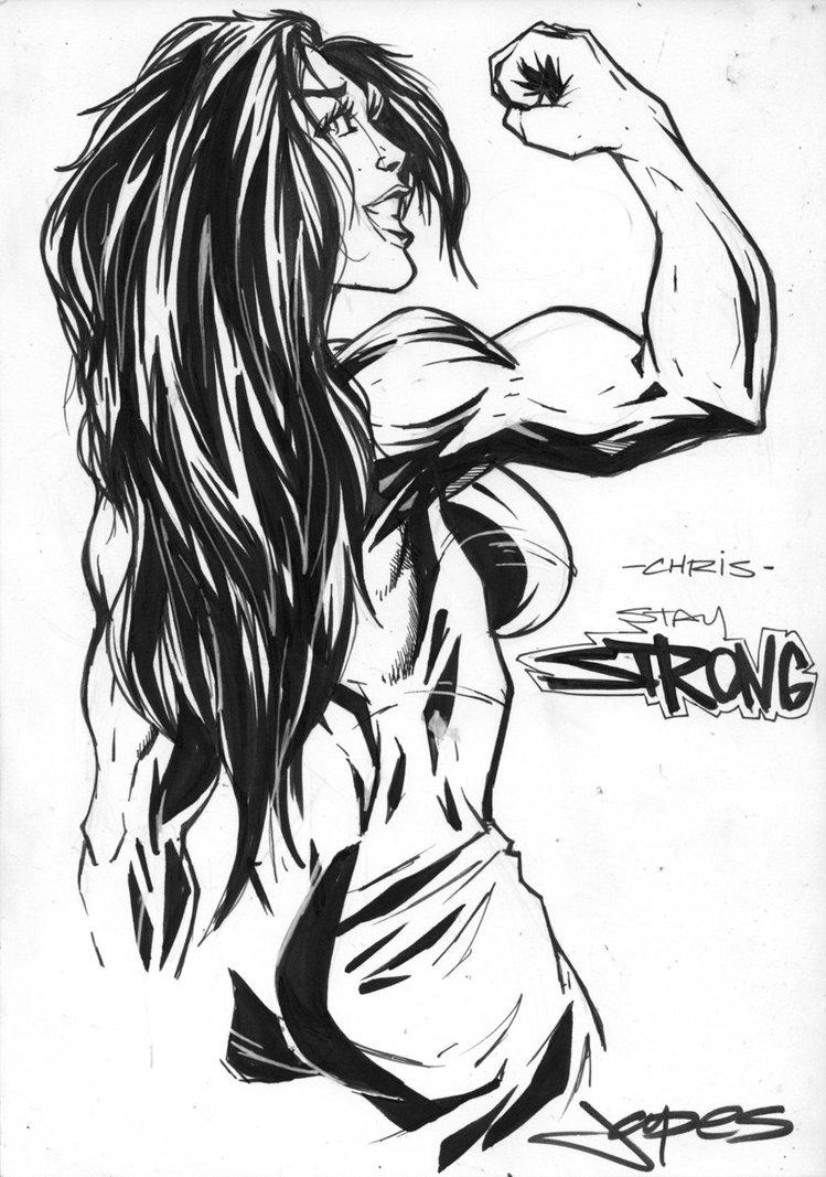 749x1067 She Hulk Drawing By Jpdeshong