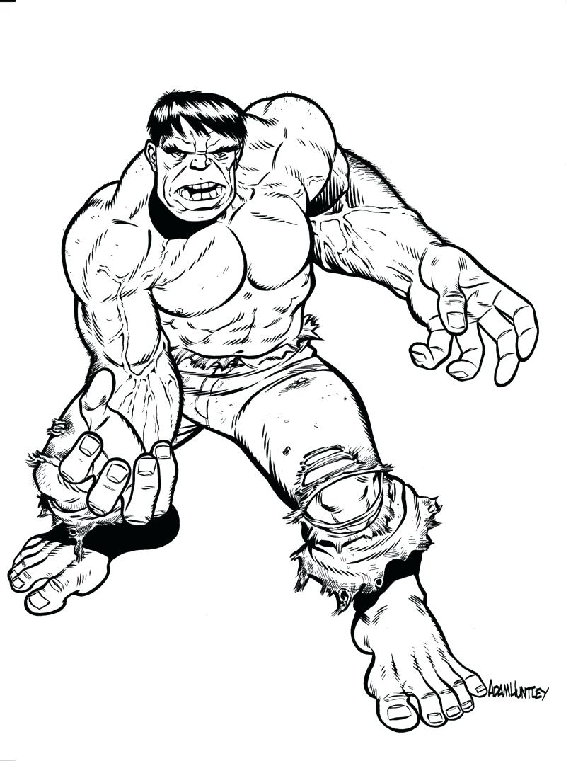 800x1075 Coloring Incredible Hulk Coloring Pictures Pages