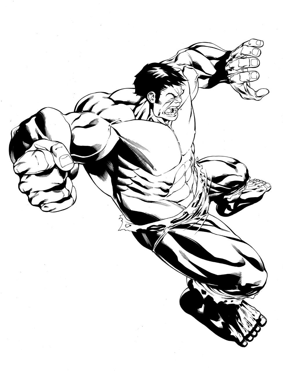 975x1281 Incredible Hulk Pencils And Inks Robert Atkins Art
