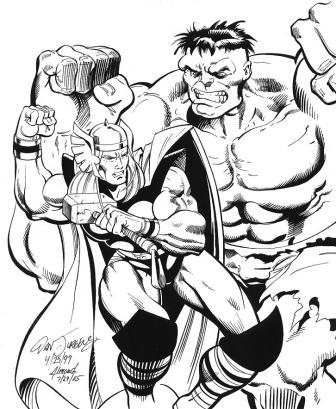 336x409 Comic Art Friday Avengers Assemble! Swanshadow Thinks Out Loud