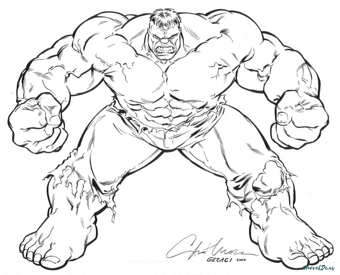 Hulk Smash Drawing