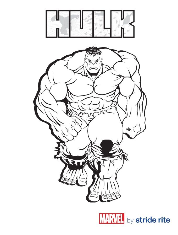 680x896 Coloring Pages Magnificent Hulk This Is How