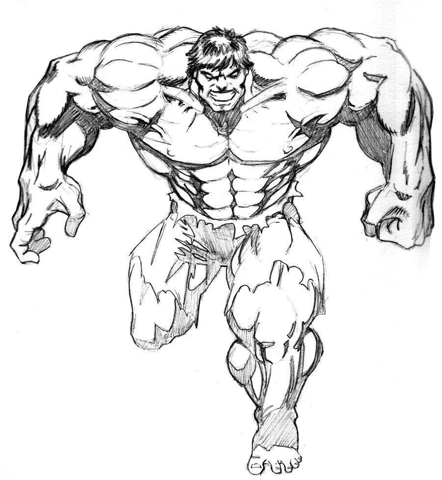 900x978 The Incredible Hulk Drawing Pencil Incredible Hulk Smash Pencil