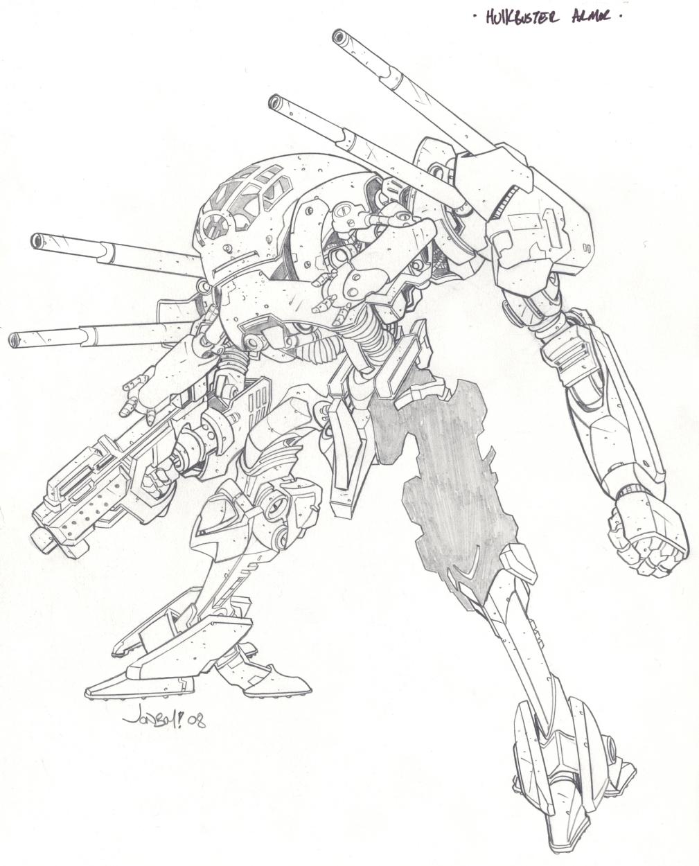 1009x1250 Hulkbuster Armor