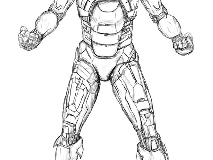 440x330 18 Coloring Pages Iron Man, Free Printable Iron Man Coloring Pages
