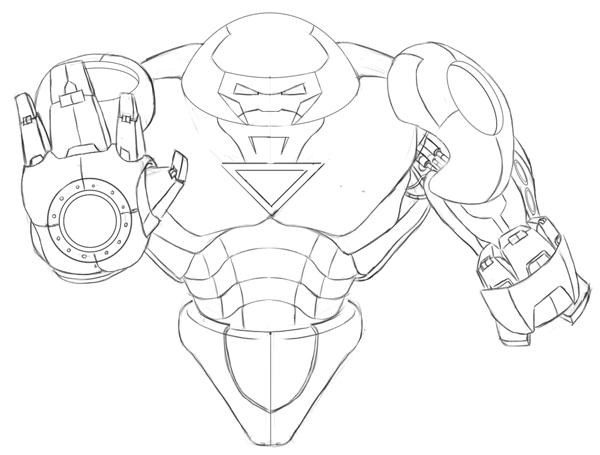 600x455 Hulkbuster Printable Coloring Pages Page For Kids