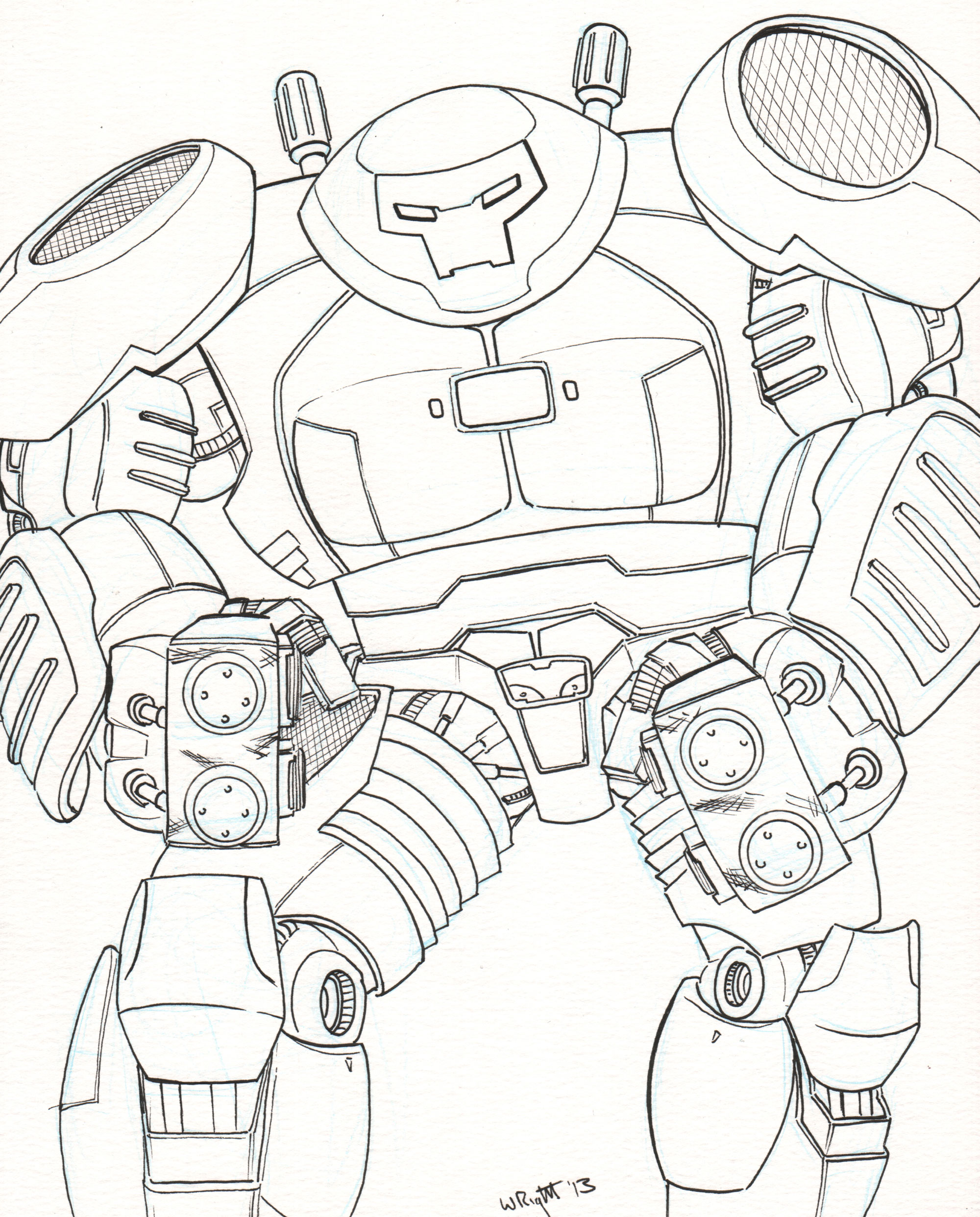 2000x2484 Iron Man Hulkbuster Vs Hulk Coloring Pages All About