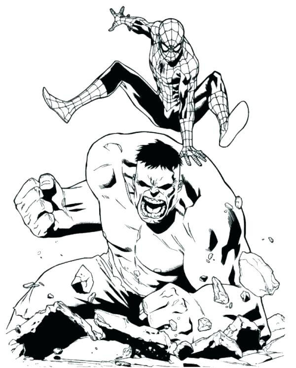 600x747 Unique Hulk Coloring Pages And Photo Red Hulk Coloring Pages