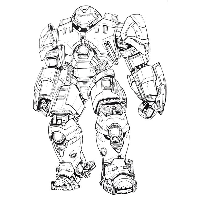 640x640 Hulkbuster Drawing On Instagram