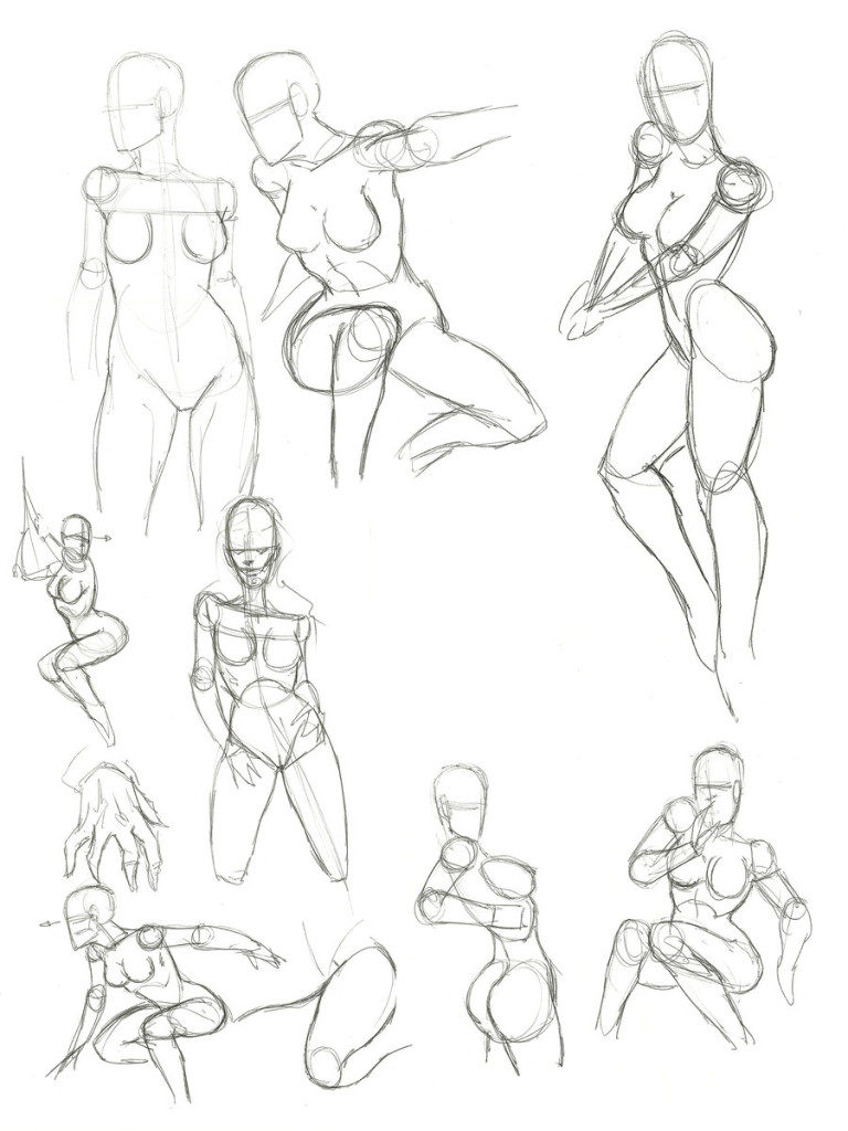 768x1024 How To Draw Female Anatomy Online Drawing Lessons