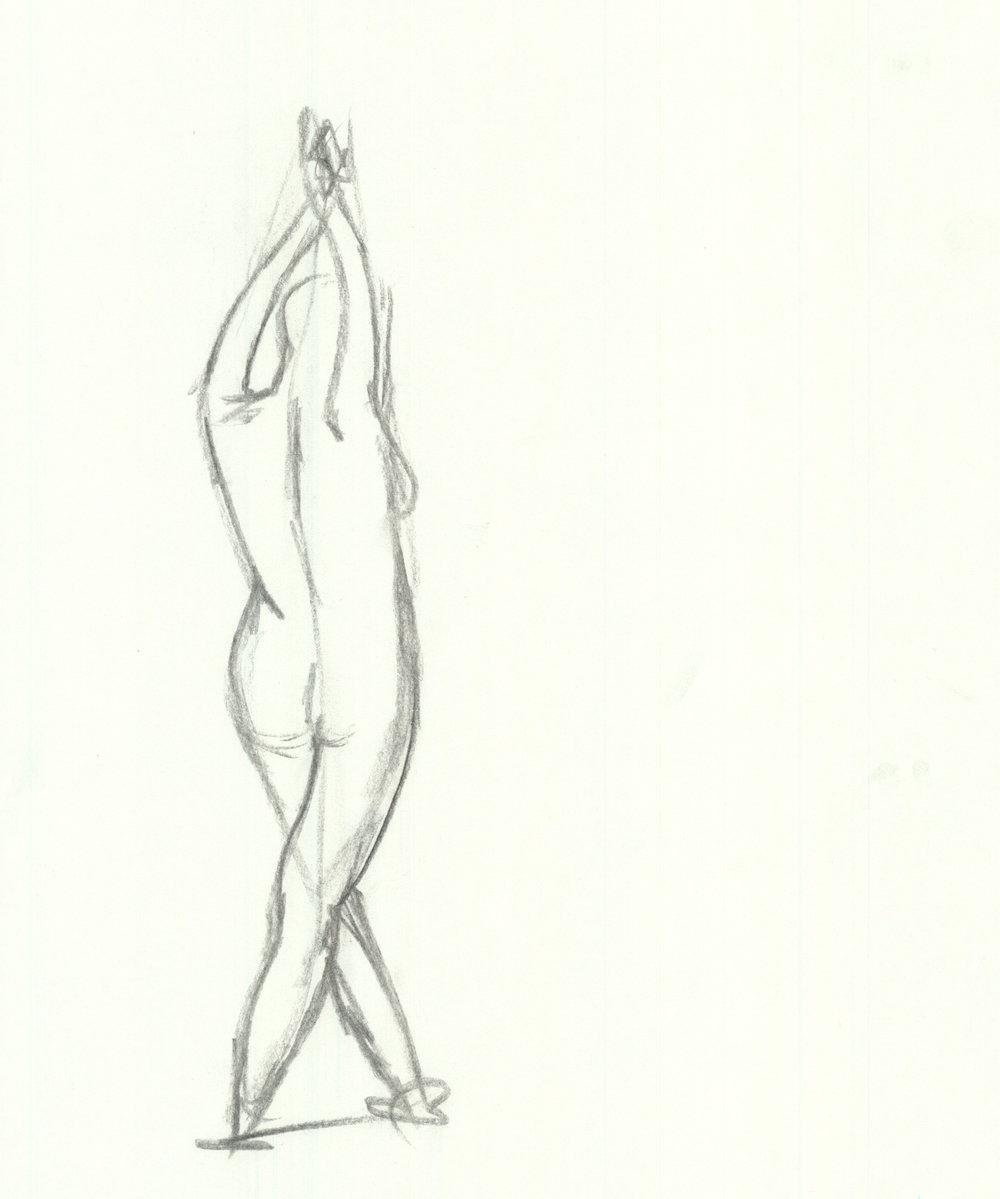 1000x1199 Drawing Katherine Mangarella