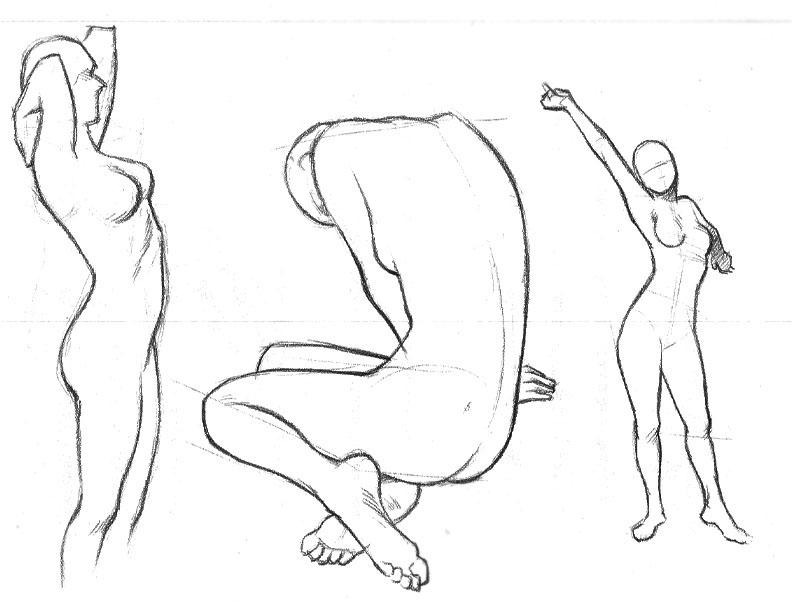 792x612 Studying The Human Figure On Behance
