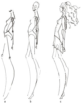 317x400 How To Draw The Sophisticated Fashion Slouch