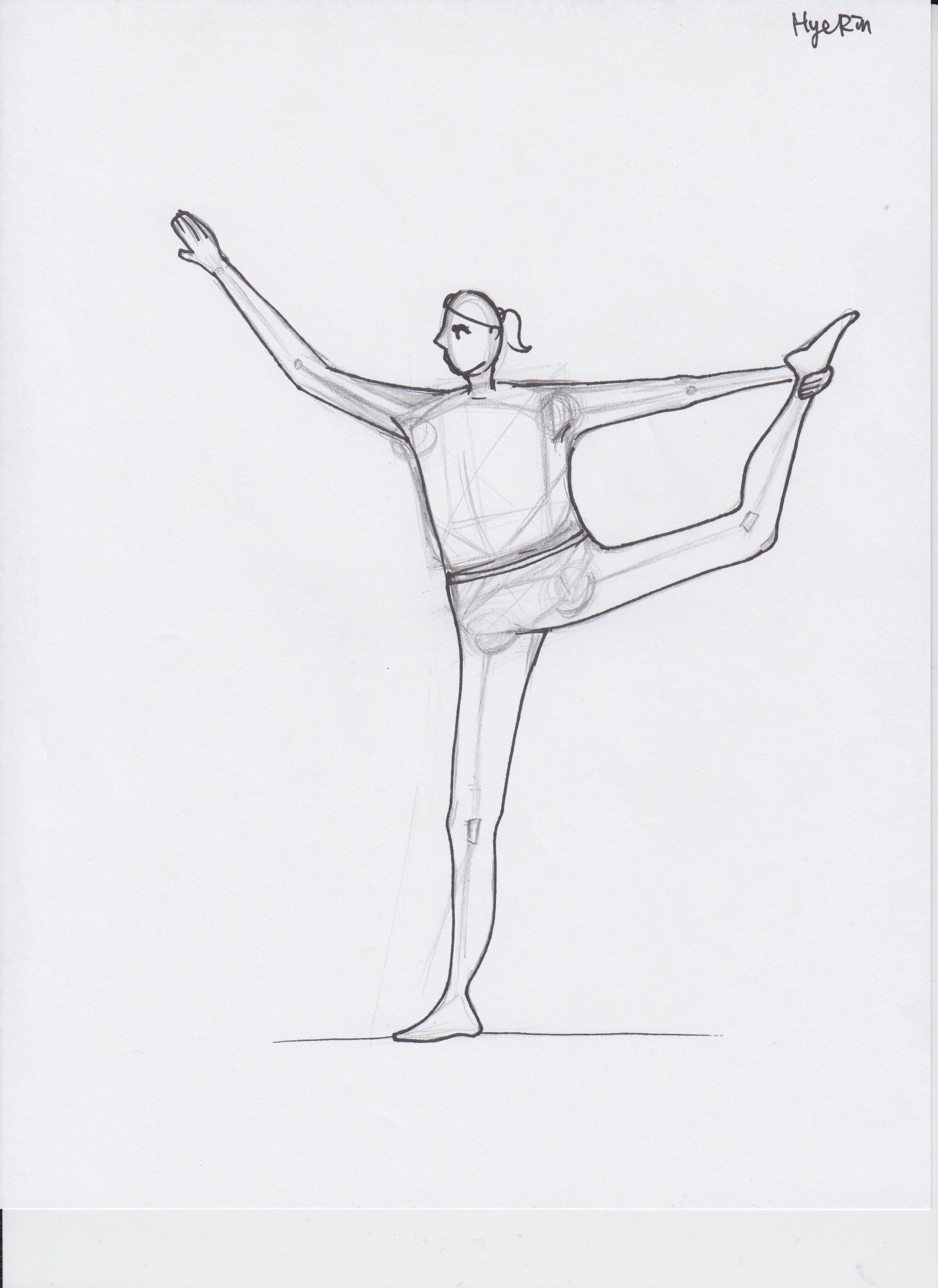 2550x3501 5 Human Body Drawings Hye Rin Lee