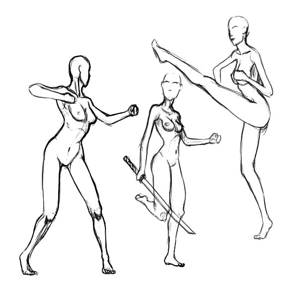 600x600 Human Body Motion Sketch Coloring Pages Human Body Motion Sketch