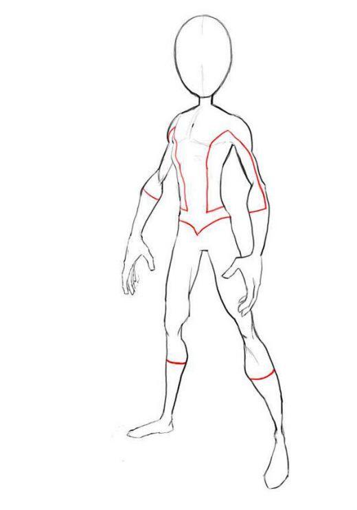 520x741 Drawn Men Superhero