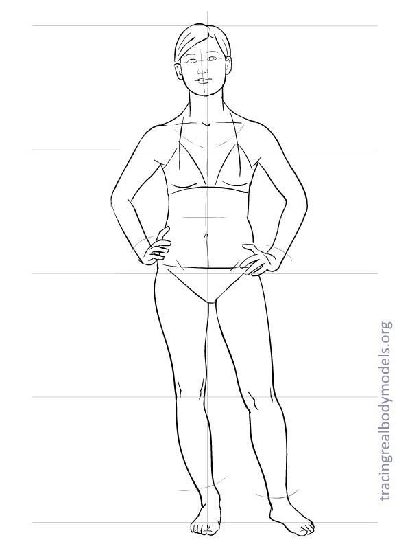 598x792 Realmodels Templates 0026 Drawing Template