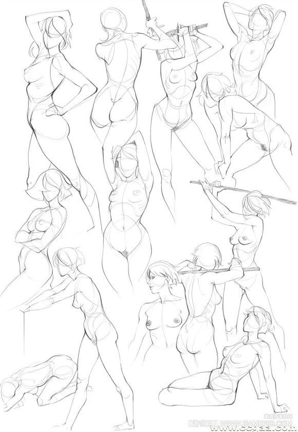580x841 Today's Drawing Class Drawing The Female Body Female Body