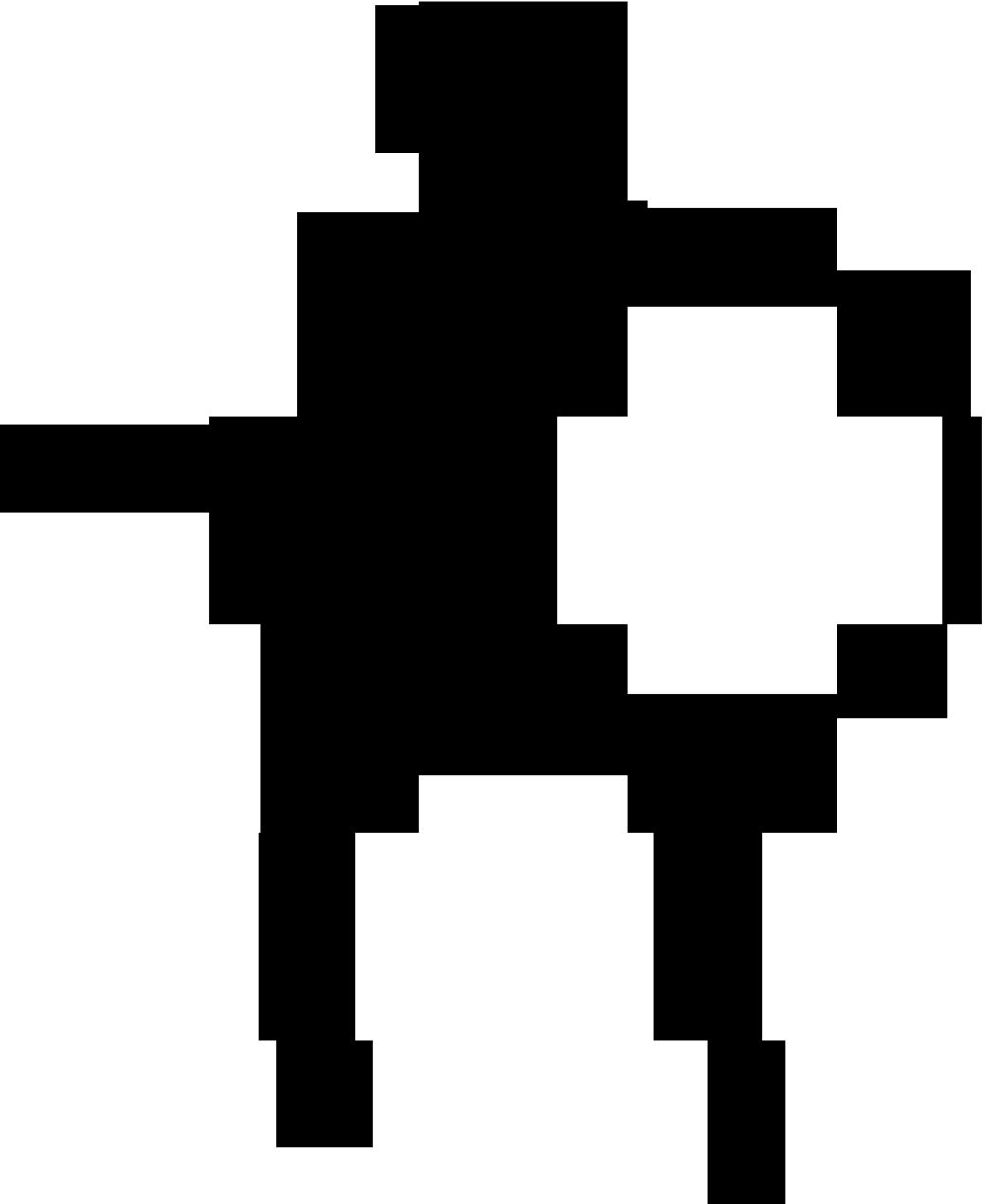 1045x1271 Human Skeleton Outline