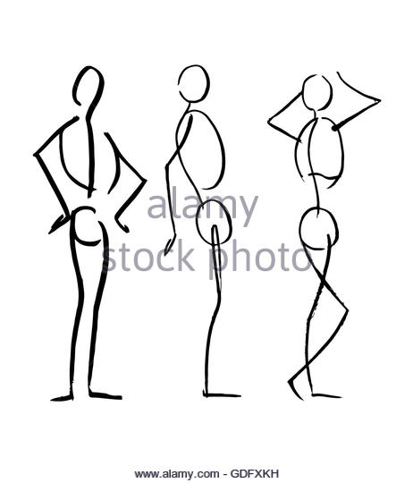 462x540 Masculine Body Drawing Stock Photos Amp Masculine Body Drawing Stock